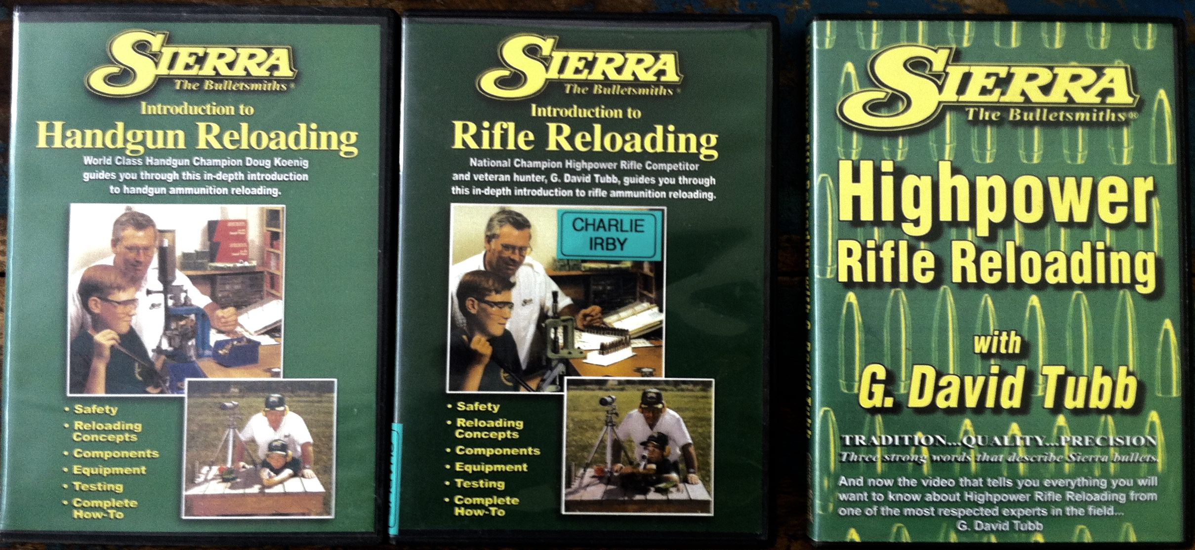 'HANDLOADING'...Building confidence in your newly acquired skill set... 1