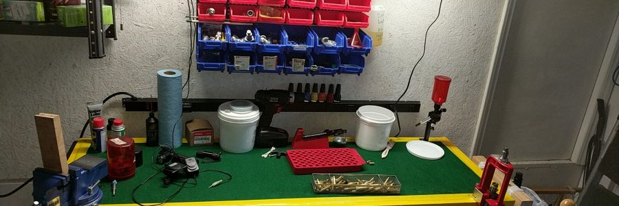 Setting Up A Reloading Area On A Budget 4