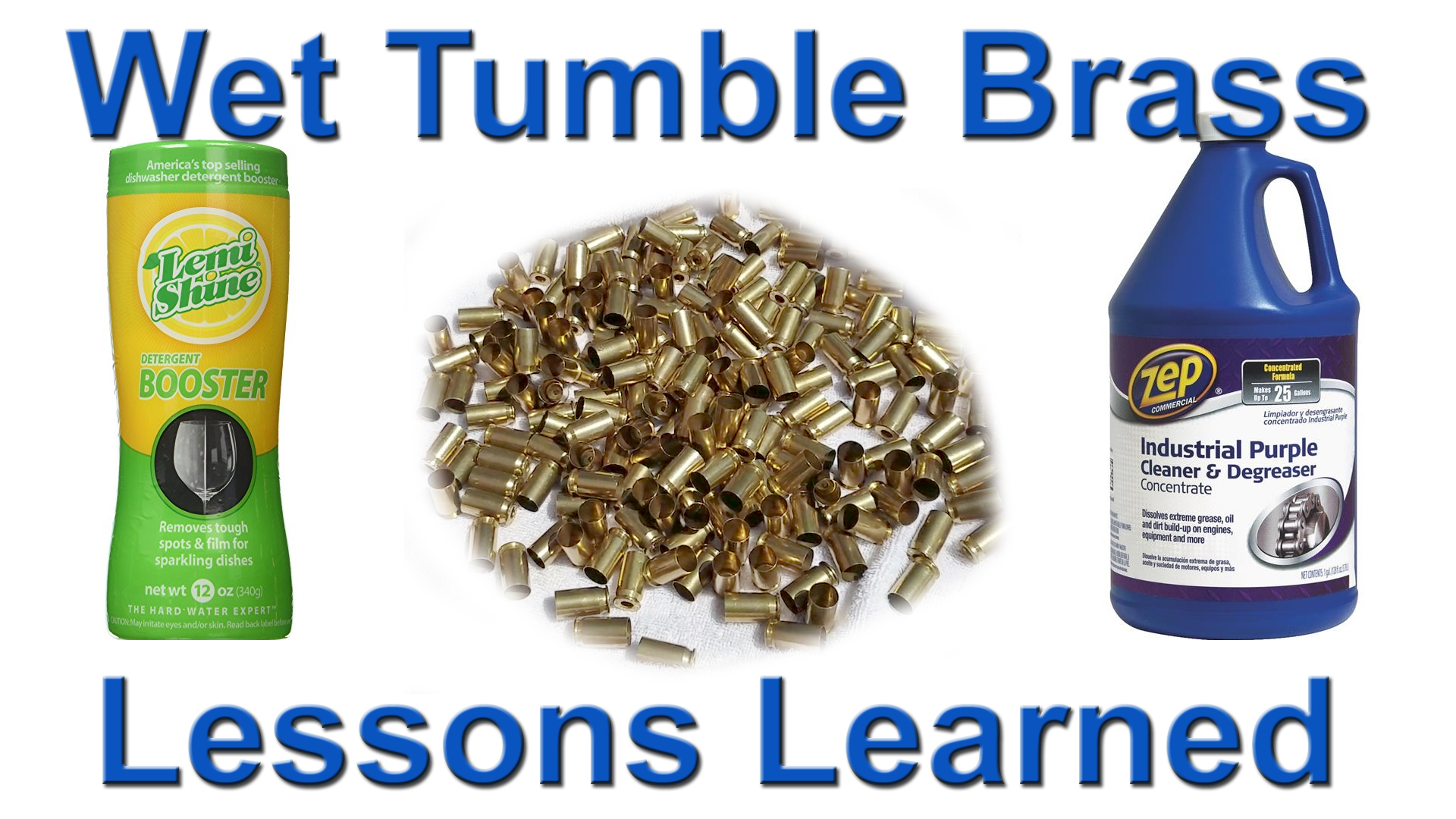 Wet tumbling brass lessons copy