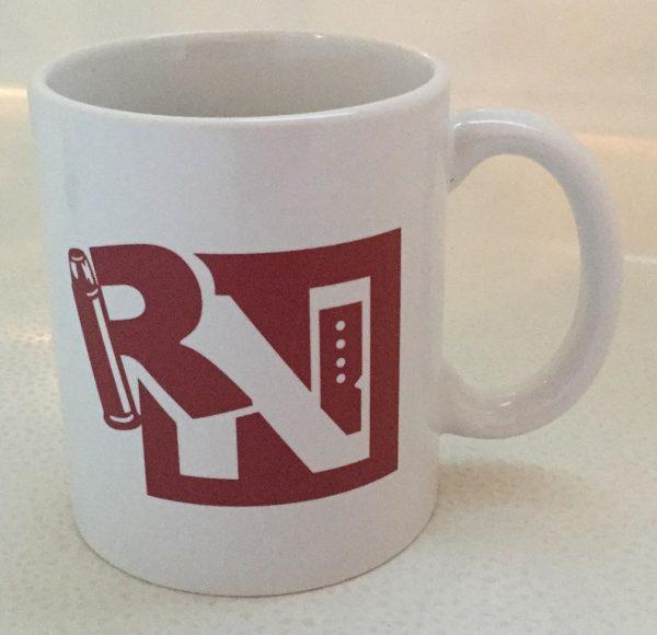 White Ceramic Mug - The Reloaders Network 1