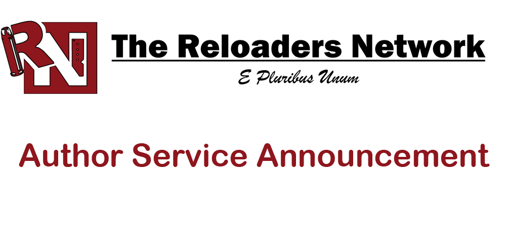 The Reloaders Network: Author Service Announcement 2