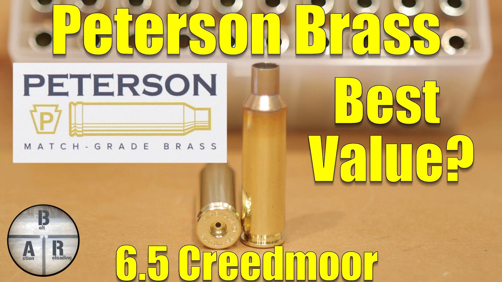 6mm Creedmoor - Starting Load Development - The Reloaders
