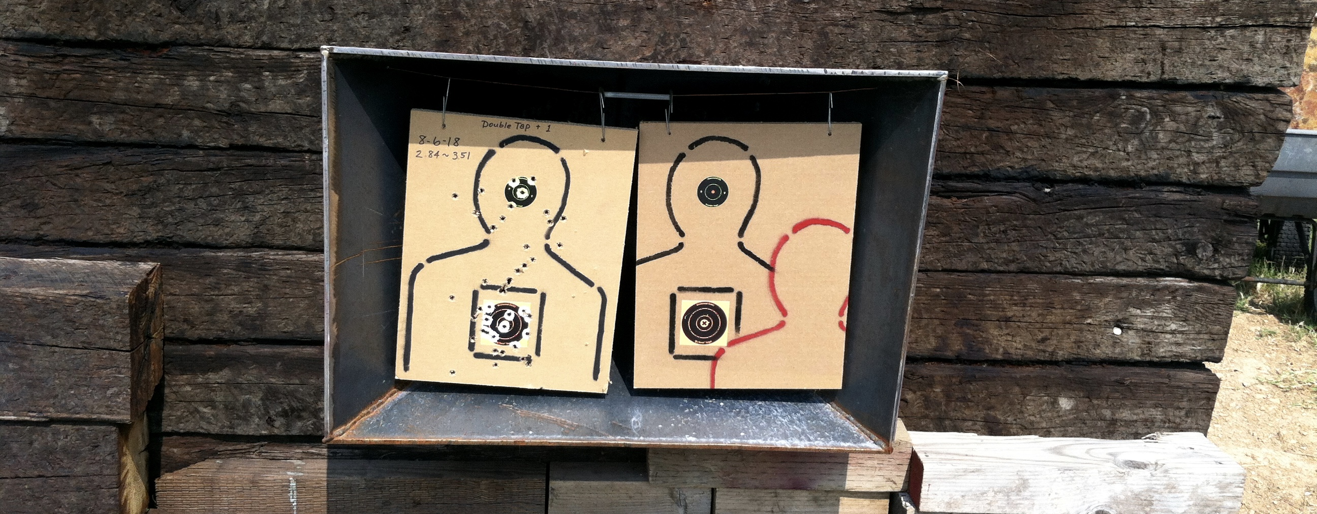 MAKING TARGETS . . . Recycle that cardboard! 26