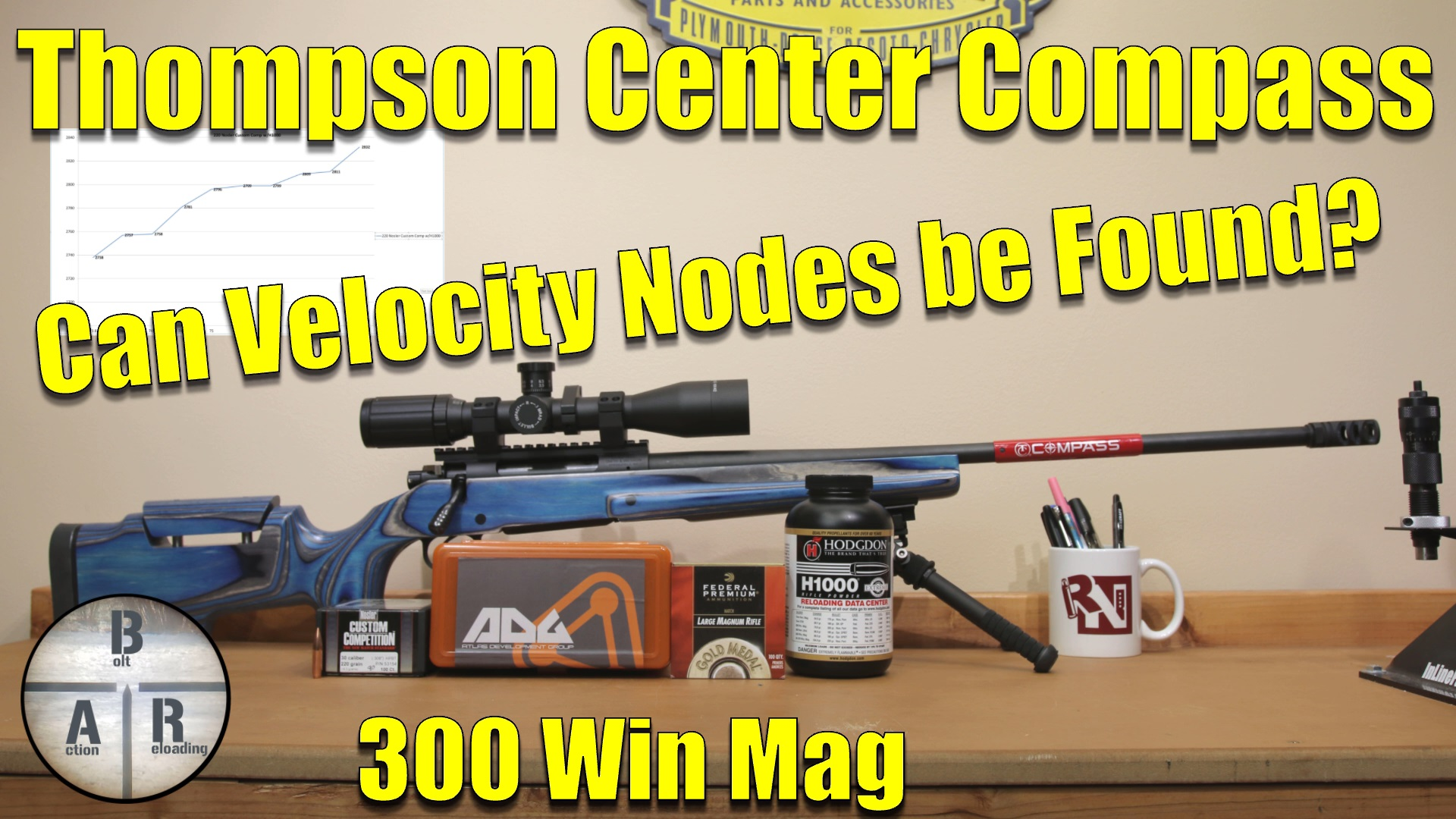 Thompson Center Compass - 300 Win Mag - Adjusting bullet