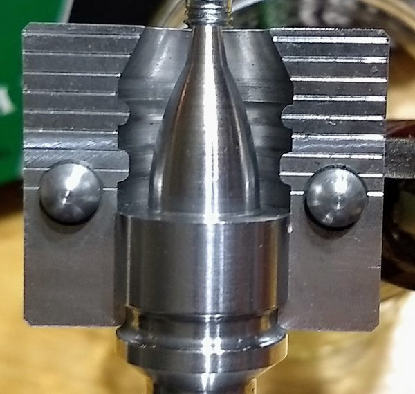 """Universal"" Base Pin for the Paradox Slug Mold 1"