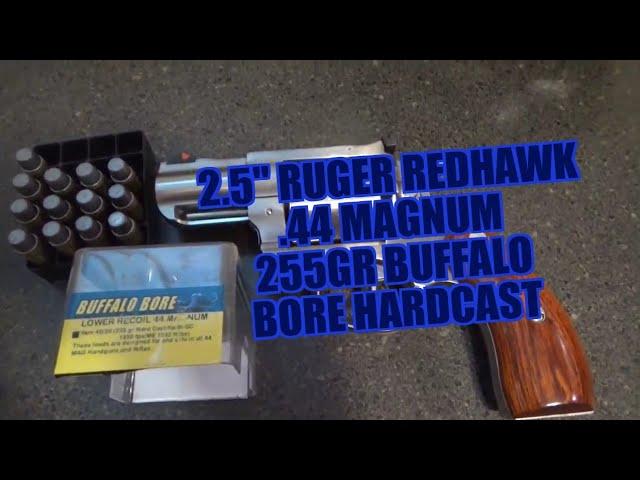 Ruger Redhawk  44 Mag 2 5
