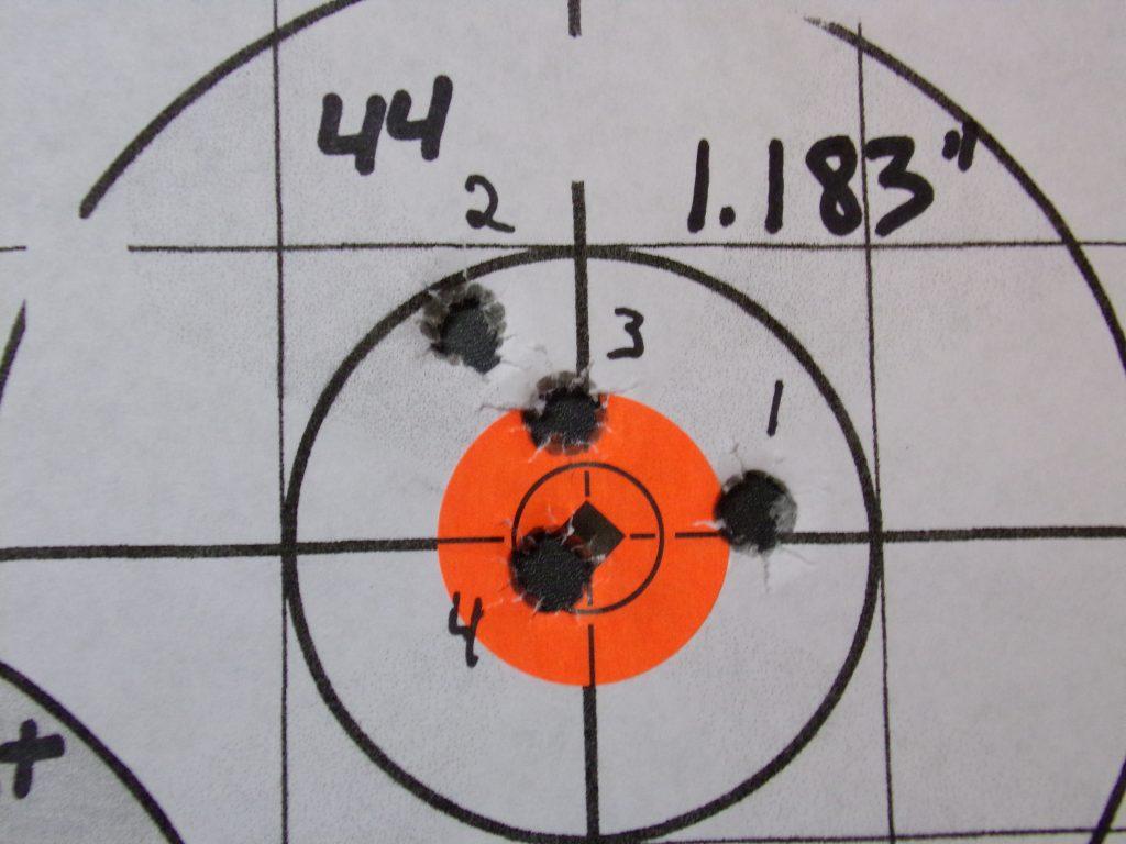 .308 Compass; 168g Hornady Match and Match Monster w/ Varget. 16