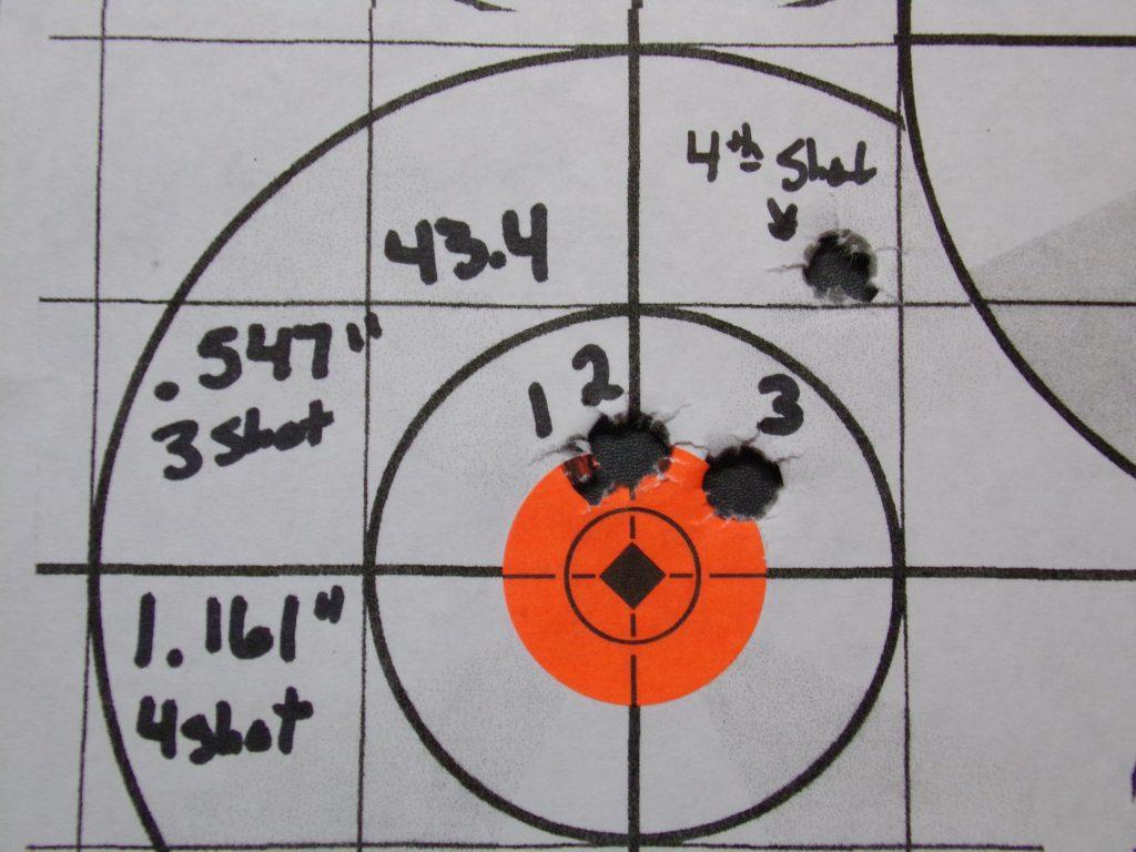 .308 Compass; 168g Hornady Match and Match Monster w/ Varget. 24
