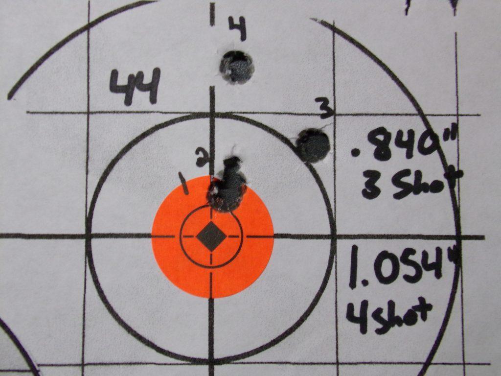 .308 Compass; 168g Hornady Match and Match Monster w/ Varget. 28
