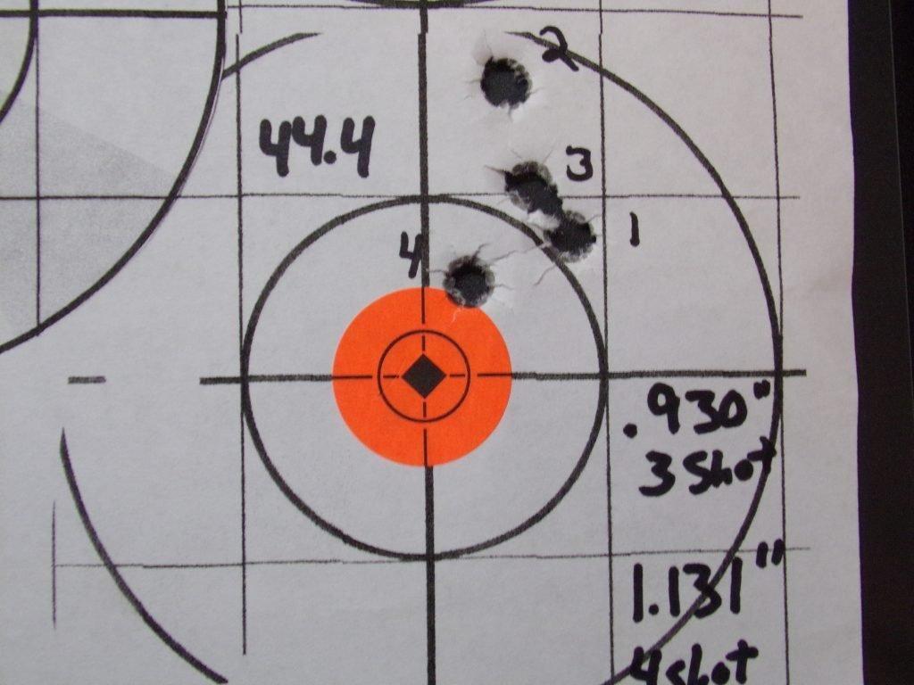 .308 Compass; 168g Hornady Match and Match Monster w/ Varget. 30