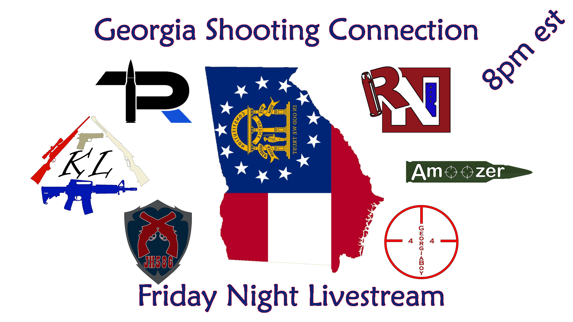 Georgia Shooting Connection Friday Night Live Stream 4/12/19 44