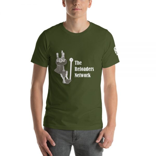 Classic TRN Design - Shades of Green Short-Sleeve T-Shirt 1