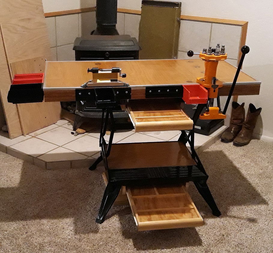 Build a Portable Reloading Bench Using a Black & Decker Workmate 102