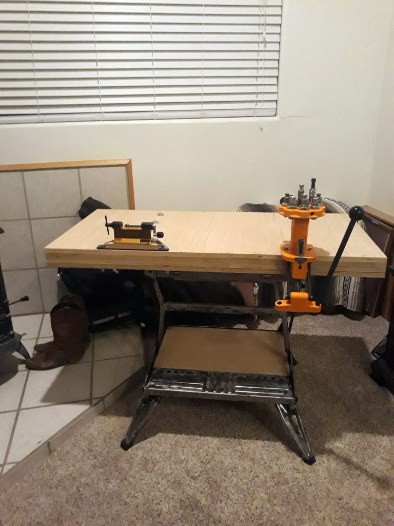 Build a Portable Reloading Bench Using a Black & Decker Workmate 24