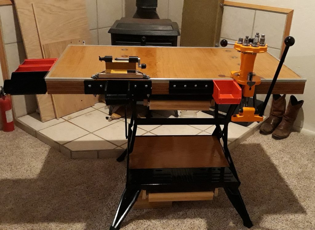 Build a Portable Reloading Bench Using a Black & Decker Workmate 100