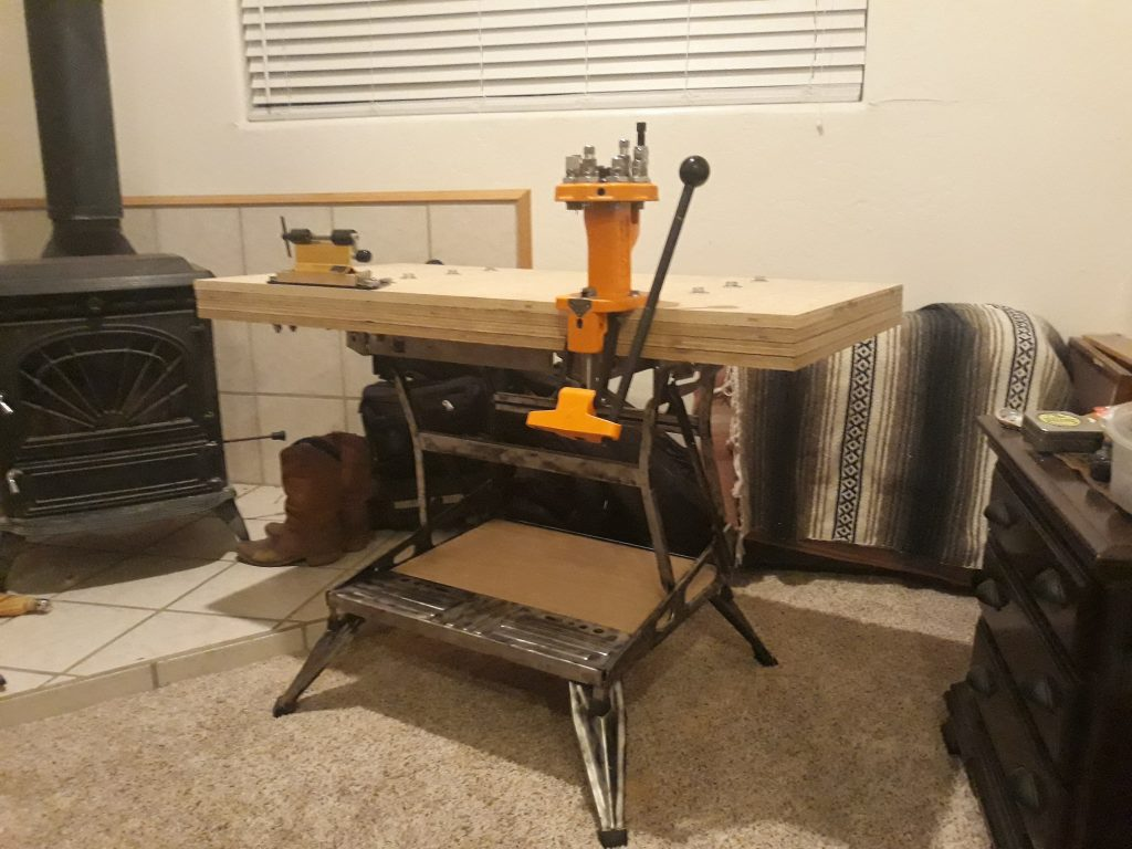 Build a Portable Reloading Bench Using a Black & Decker Workmate 26