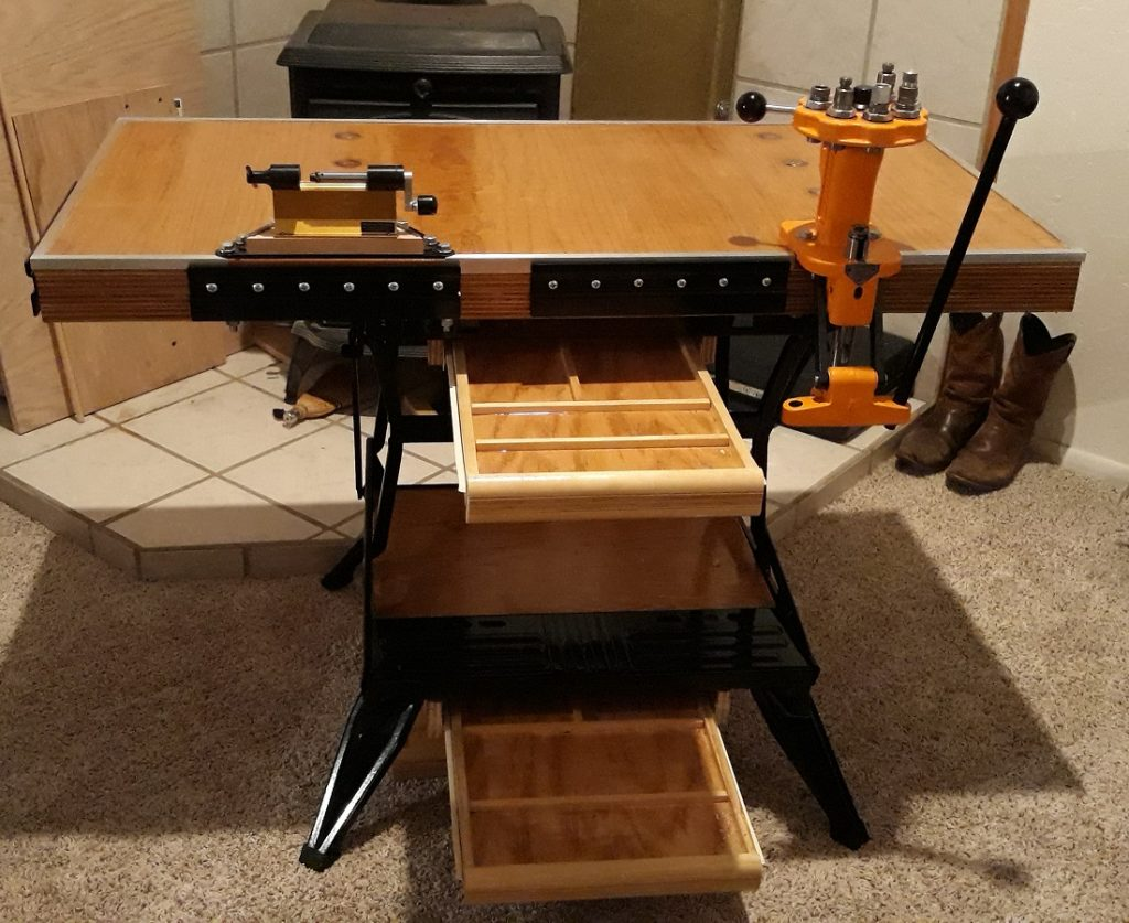 Build a Portable Reloading Bench Using a Black & Decker Workmate 104