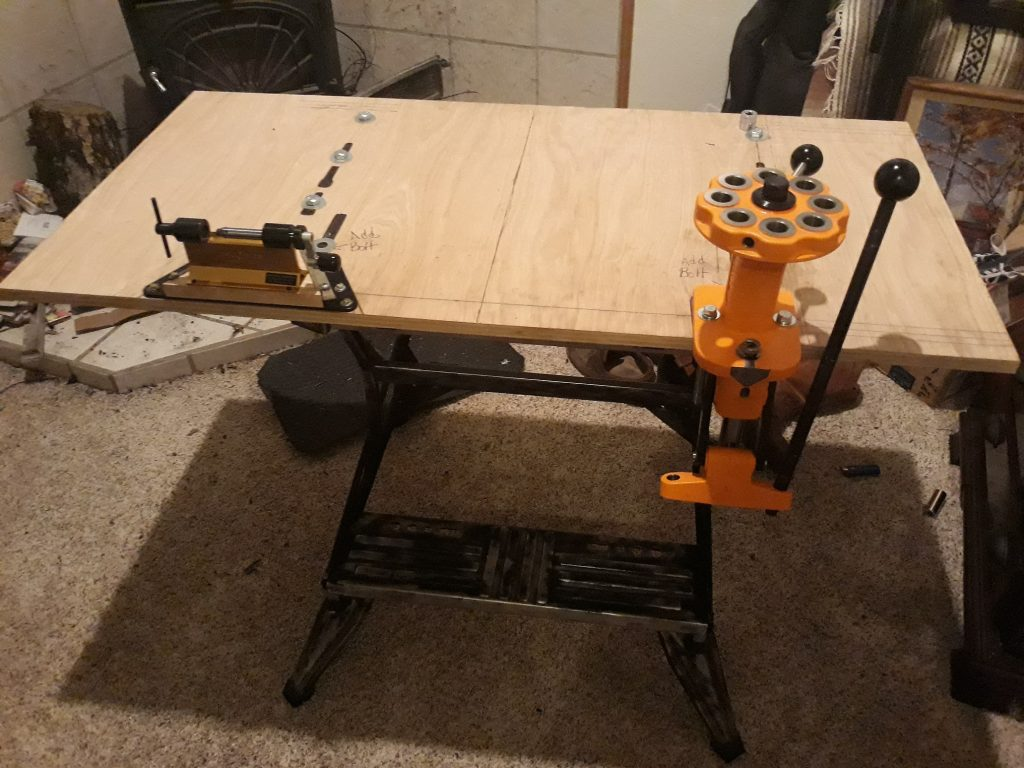 Build a Portable Reloading Bench Using a Black & Decker Workmate 18