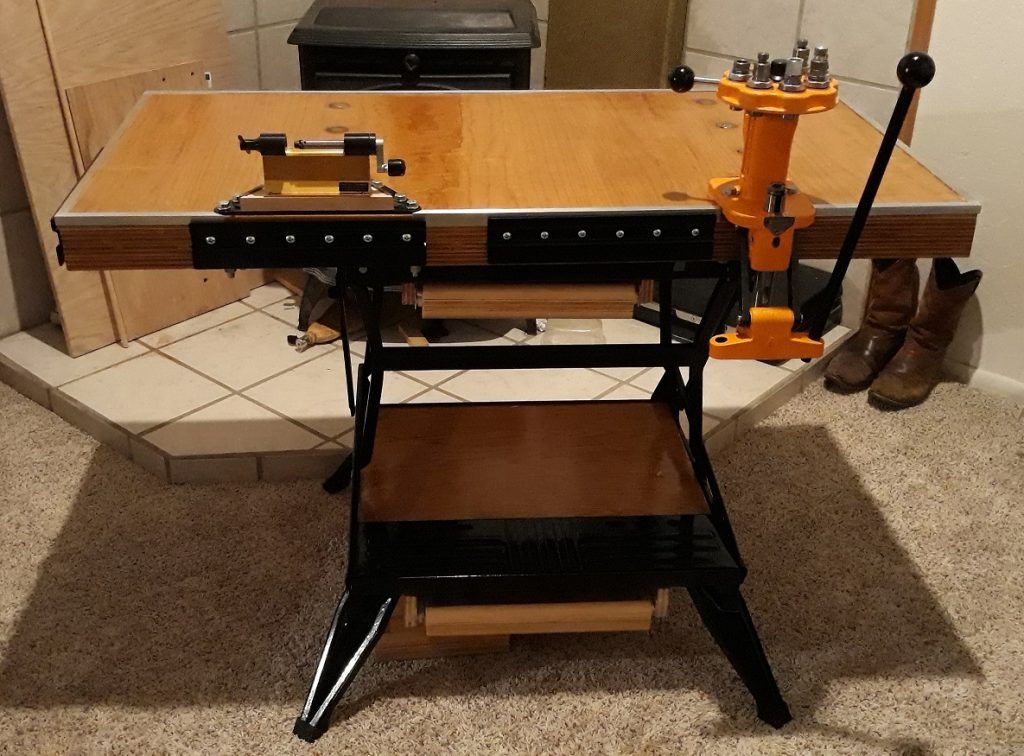 Build a Portable Reloading Bench Using a Black & Decker Workmate 106