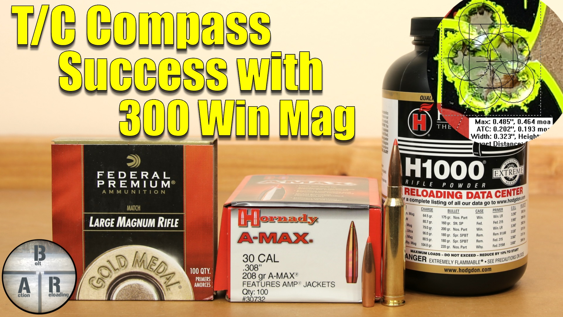 6mm Creedmoor - Hornady 108 ELD-M Match with Alliant Reloder