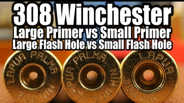308 Win - Lg vs Sm Primers and Flash Holes 2