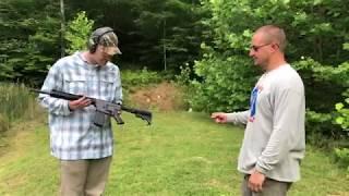 .338 Lapua, Sawed off Shotgun, and more Range day fun with Who Tee Who!! 10