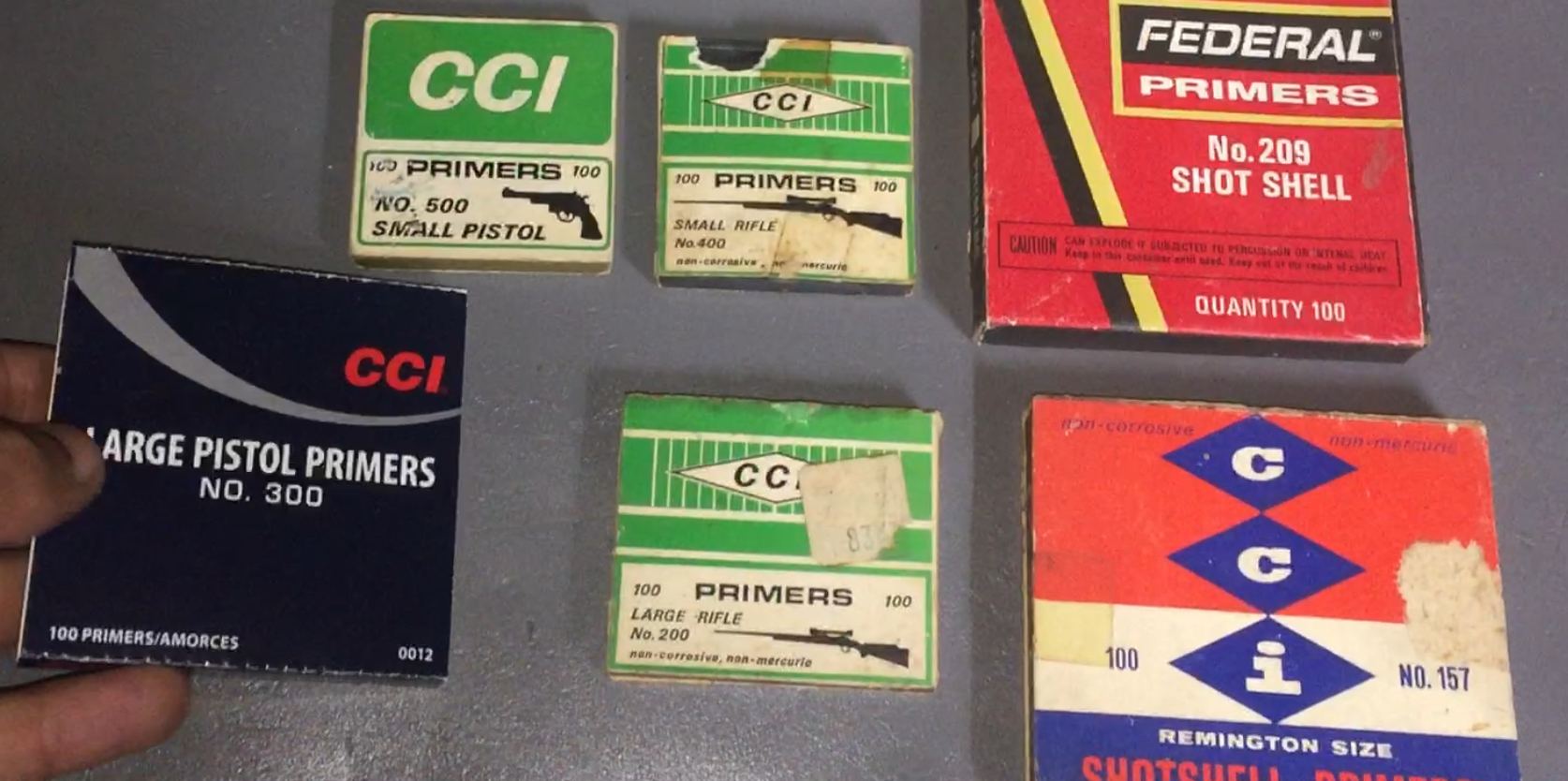 Vintage CCI Primers & More 47