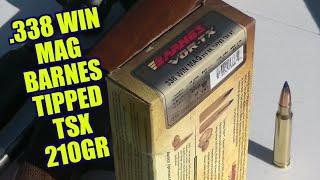 Barnes 210 Grain .338 Winchester Magnum Tipped TSX