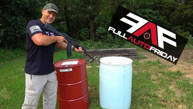 Full Auto Friday! AK-47 vs 55 Gallon Drums!