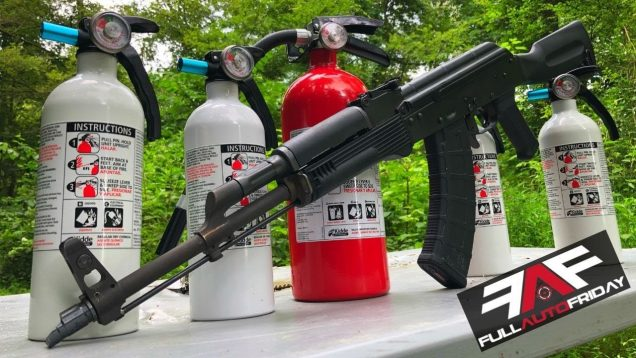 Full Auto Friday! AK-47 vs Fire Extinguishers!