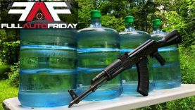 Full Auto Friday! AK-47 vs H2O💦