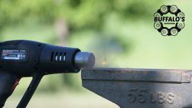 Heat Gun vs 22LR Cartridge