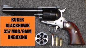 RUGER BLACKHAWK 357 MAG/9 MM REVOLVER – UNBOXING/TEASER