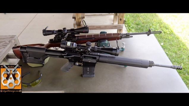 Springfield Armory M1A and AR10 Accuracy Evaluation 26