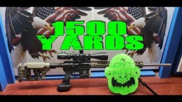 1500 Yard 223 Wylde AR 15 Zombie