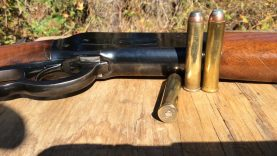 1886 Winchester lever action rifle calibre 50-110 wcf high velocity vs low  velocity vs water