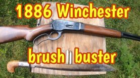 1886 Winchester, the ultimate Lever Action brush gun