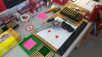 GP100 - 38 Special 125/158 XTP with Titegroup | 357 Mag 158 XTP with H110 6
