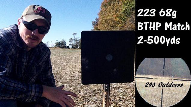 223 68g BTHP Match 200-500 Yards