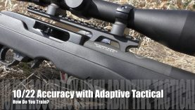 .22lr Accuracy with Adaptive Tactical – WE TRAIN!