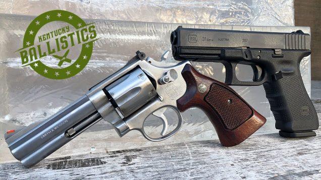 357 Sig vs 357 Magnum vs Ballistic Gel