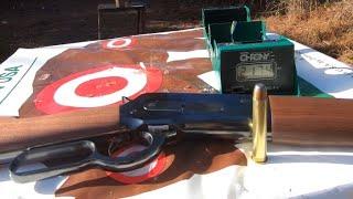 45-90 WCF 1886 Winchester Shooting 405 grain hard lead bullets 2,255 fps