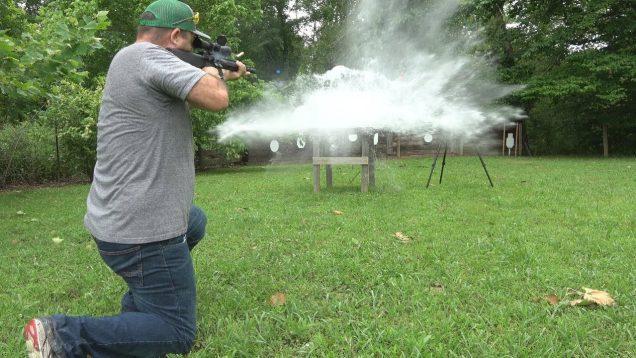 .450 Bushmaster vs Water 28