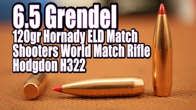 6.5 Grendel - 120gr Hornady ELD Match 42
