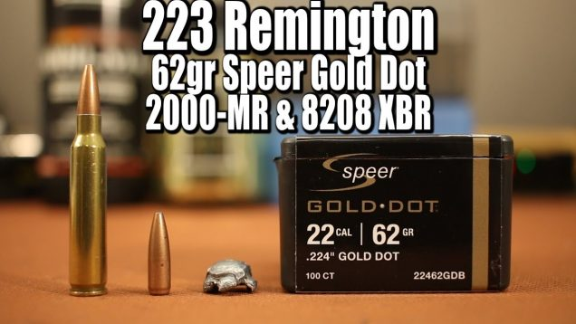62gr Speer Gold Dot in 223 Remington