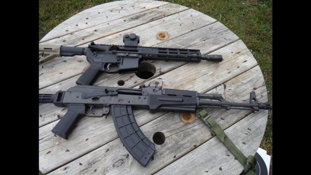 7.62X39 Shootout – 10.5″ AR versus 16″ AK