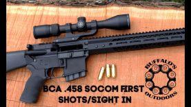Bear Creek Arsenal  458 SOCOM Part 3 - Will it run? - The