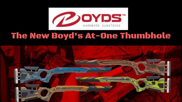 Boyd's At-One Thumbhole Stock, New for 2019