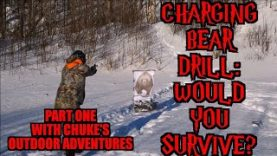 Charging Bear Attack Drill: Would you Survive? Part 1 with Chuke's Outdoor Adventures