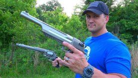 Desert Eagle 50 AE vs 500 S&W Magnum – THE REMATCH!!!